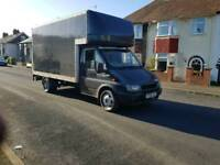 Diesel transit lutton van with electric tail lift