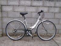 ladies bike apollo 700c aluminium frame hybrid