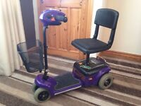 wispa mobility scooter comes apart to put in a car recent service costing £120 genuine bargain £230