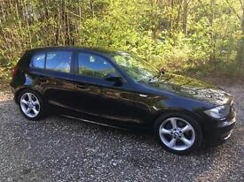 Quick sale needed, First sensible offer accepted. Beautiful Black BMW 118D ES Diesel.