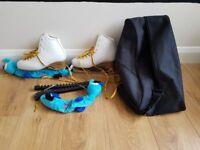 Ice Skates EDEA MOTIVO with Bag, Cloth and Plastic Blades Covers