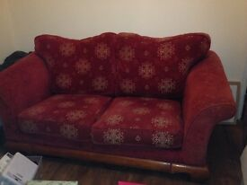 Free large two seater sofa
