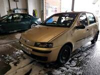 Fiat punto 02 plate