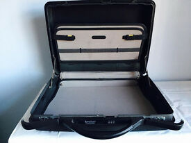 Samsonite American Tourister hard shell briefcase,bargain at £45,used as seen in pictures