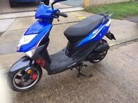 Lexmoto FM 50cc Scooter 65 Plate