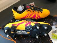 Adidas X15.1 SG UK size 9 Football boots, BRAND NEW.