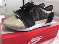 Men's Balenciaga Camo Runners Size 9 - Used CHEAP!