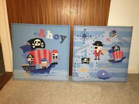 NEXT pirate picture frames