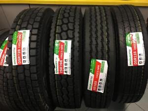 COMMERCIAL TRUCK TRAILER NEW TIRES ,DRIVE TRAILER & STEER TRUCK NEW TIRES,11R22.5-16Pr 245/70R19.5