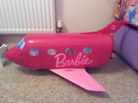 Barbie jumbo glam jet plane