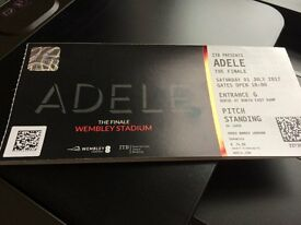 Adele Ticket Wembley Sat 1st July Pitch Standing