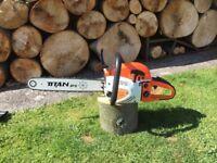 Titan Pro chainsaw 5200