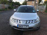 2005 Nissan Murano 3.5 V6 X-Tronic CVT 5dr Automatic @07445775115