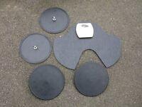 Drum Practice Pads x 5