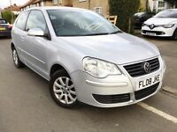 2008 VOLKSWAGEN POLO 1.4 SE AUTO 3DR,51000 MILES,FULL VOLKSWAGEN HISTORY,CAMBELT DONE,2 OWNERS.