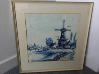 Original painting of Dutch scene