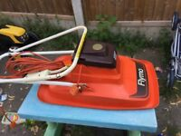 Vintage fully working Flymo Sprinter E30 Twin Lawn Mower metal blade