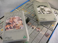 Collectable Laurel & Hardy The Classic Collection 20 Video Tapes Boxed (WH_2256)