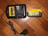 Dewalt charger and 4AH battery