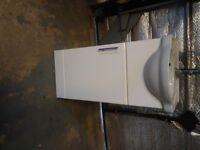 cloakroom vanity unit & basin (400mm)
