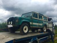 Land Rover 1983 defender county station wagon
