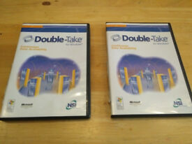 Double Take SQL replication software boxed with keys