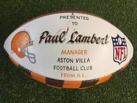 Cleveland Browns NFL America football memorabilia