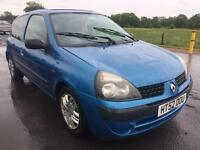 Bargain trade in to clear, Renault Clio, MOTd ready to go