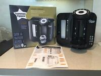 Tommee Tippee black perfect prep machine - 3 months old