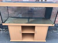 5ft Juwel Rio 400 in beachwood marine tropical fish tank aquarium