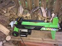 "FOR SALE. Electric 6 ton ""Handy"" log splitter. ."