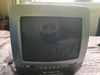 Tv with integrated cd player