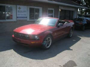 2006 Ford Mustang V6 CONVERTIBLE STANG