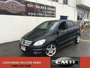 2010 Mercedes-Benz B-Class B200 TURBO PANO-ROOF *CERTIFIED*