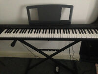 Yamaha NP30 76-Key Portable Grand Piano with stand and pedal