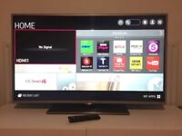 "LG 32"" Smart WiFi Led tv Netflix Youtube bbc itv Freeview hdmi usb excellent Condition"