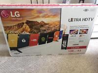 """LG 43"""" UHD, TV"""