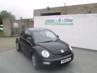 2002 vw beetle in black just home from the uk car is mint inside and out just mot today