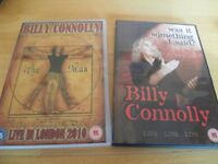 Billy Connolly programmes and DVD's