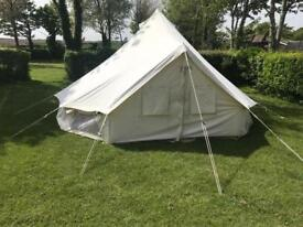 5m round bell tent - used