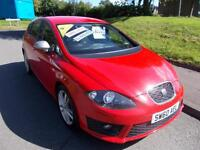 SEAT LEON 2.0 FR CR TDI 5d 168 BHP (red) 2010