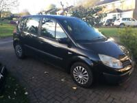 Renault Megane Scenic Expression 1.4 16v '04 Black