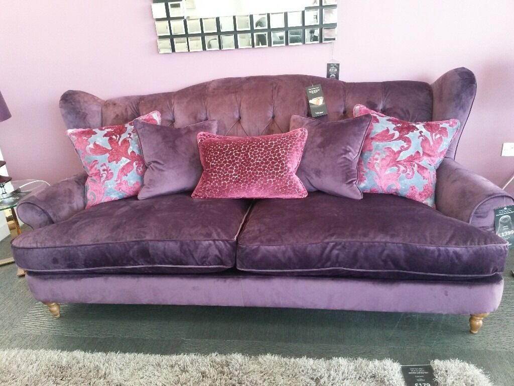 Designer Sofology Liberte 4 Seater Sofa And Footstool In