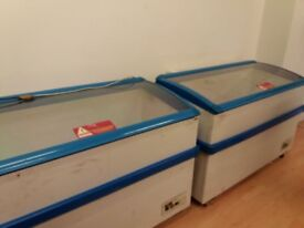 Display chest freezer, with 6 months parts warranty