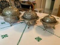 Silver Moroccan ornaments