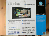 Clarion NX504E (inc. Smart Access, Bluetooth, DVD, DAB+, Micro SD input) - fitting not included