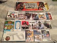 Nintendo Wii Games and Accessories batch
