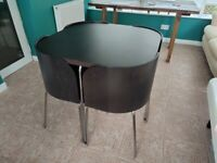 Retro - four seater dining table and chairs