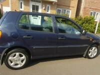 VW POLO ,66K ,1 OWNER FROM NEW ,11MONTHS MOT CLSSIC TIDY £595 ONO