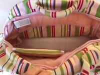 Brand new baby bag with nappy mat inc